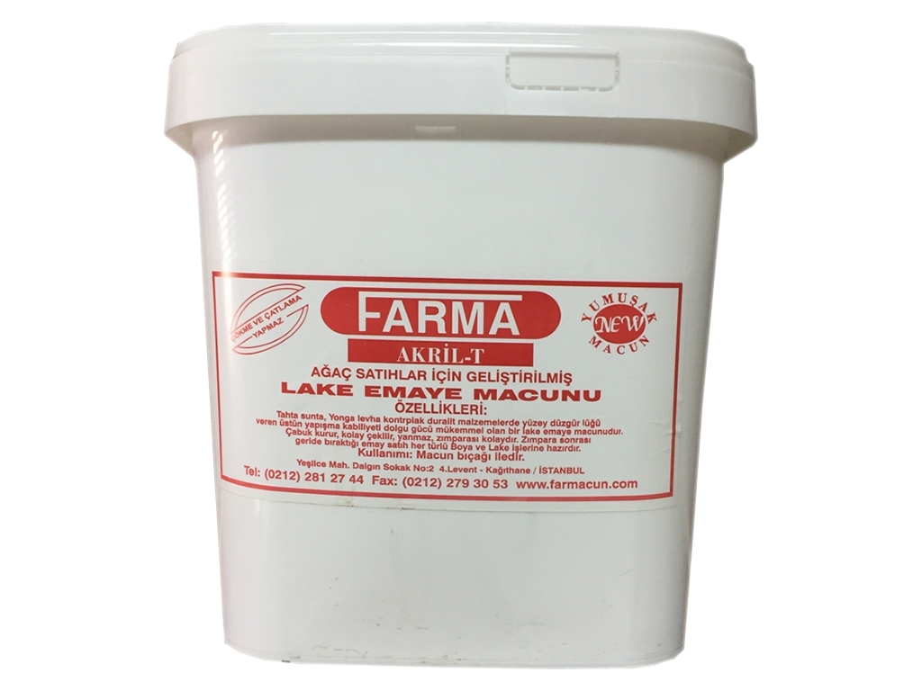 FARMA LAKE AKRİL-T MACUN Farma Dow